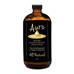 32oz. Auro Gold in Amber Glass Bottle