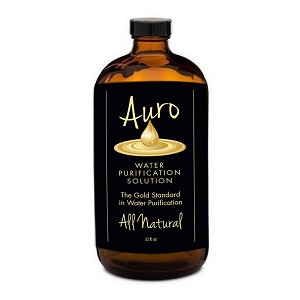 32oz. Auro Gold in Amber Glass Bottle 'On Sale'